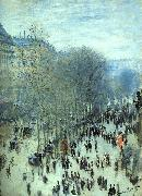 Claude Monet Boulevard des Capucines oil painting picture wholesale