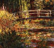 Claude Monet The Water Lily Pond Pink Harmony oil painting picture wholesale
