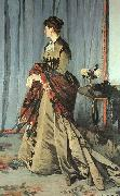 Claude Monet Madame Gaudibert oil painting