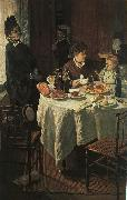 Claude Monet The Luncheon oil painting picture wholesale