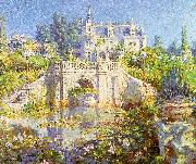 Colin Campbell Cooper A California Water Garden at Redlands oil