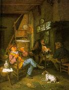 Cornelis Dusart Pipe Smoker oil painting picture wholesale