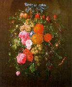 Cornelis de Heem Still Life with Flowers oil painting picture wholesale