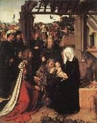 DAVID, Gerard Adoration of the Magi kigh oil painting artist