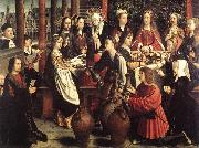 DAVID, Gerard The Marriage at Cana fg oil painting artist