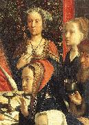 DAVID, Gerard The Marriage at Cana (detail) dsg oil painting artist