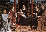 DAVID, Gerard The Mystic Marriage of St Catherine dg oil painting artist