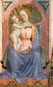 DOMENICO VENEZIANO The Madonna and Child with Saints (detail) dh oil painting picture wholesale