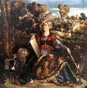 DOSSI, Dosso Circe (or Melissa) dfgd oil