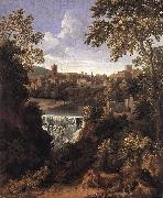 DUGHET, Gaspard The Falls of Tivoli dfg oil painting artist