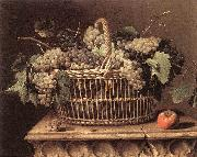 DUPUYS, Pierre Basket of Grapes dfg oil painting picture wholesale
