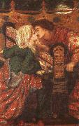 Dante Gabriel Rossetti King Rene's Honeymoon oil painting artist