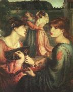 Dante Gabriel Rossetti The Bower Meadow oil painting artist
