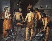 Diego Velazquez The Forge of Vulcan Germany oil painting reproduction