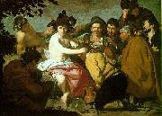 Diego Velazquez The Feast of Bacchus oil painting picture wholesale