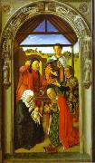 Dieric Bouts The Adoration of Magi. oil painting picture wholesale
