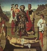 Dieric Bouts The Martyrdom of St.Erasmus oil painting picture wholesale