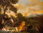 Domenichino The Repose of Venus oil