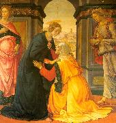 Domenico Ghirlandaio Visitation 8 oil painting artist