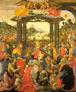 Domenico Ghirlandaio Adoration of the Magi   qq oil painting artist