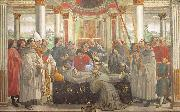 Domenico Ghirlandaio Obsequies of St.Francis oil painting reproduction