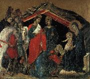 Duccio di Buoninsegna The Maesta Altarpiece oil
