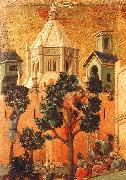 Duccio di Buoninsegna Entry into Jerusalem Germany oil painting reproduction