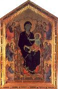 Duccio The Rucellai Madonna oil