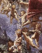 ELSHEIMER, Adam Rest on Flight into Egypt (detail) dfg oil painting artist