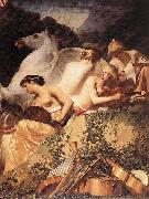 EVERDINGEN, Caesar van The Four Muses with Pegasus fg oil painting artist