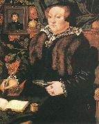 EWORTH, Hans Portrait of Lady Dacre fg oil