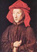 EYCK, Jan van Portrait of Giovanni Arnolfini  s oil painting picture wholesale
