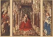 EYCK, Jan van Small Triptych ssf Germany oil painting reproduction