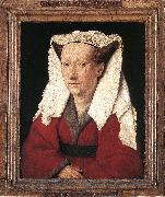 EYCK, Jan van Portrait of Margareta van Eyck sdf oil painting picture wholesale