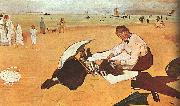 Edgar Degas At the Beach_z oil painting picture wholesale
