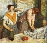 Edgar Degas The Laundresses oil painting picture wholesale