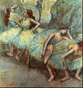 Edgar Degas Ballet Dancers in the Wings Germany oil painting reproduction