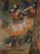Edgar Degas Two Dancers_j Germany oil painting reproduction