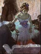 Edgar Degas Before the Entrance on Stage Germany oil painting reproduction