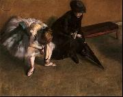 Edgar Degas Waiting Germany oil painting reproduction