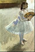 Edgar Degas Dancer with a Fan Germany oil painting reproduction