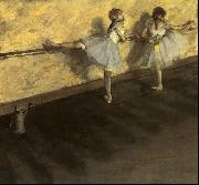 Edgar Degas Dancers Practicing at the Barre Germany oil painting reproduction