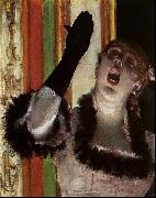 Edgar Degas Singer With a Glove oil painting picture wholesale