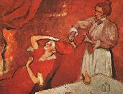 Edgar Degas Combing the Hair oil painting picture wholesale