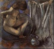 Edgar Degas Woman in the Tub oil painting picture wholesale