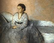 Edgar Degas Madame Rene de Gas oil painting picture wholesale