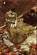 Edgar Degas Avant l'Entree en Scene oil painting picture wholesale