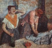 Edgar Degas Laundry Maids oil painting picture wholesale