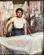 Edgar Degas A Woman Ironing oil painting picture wholesale