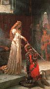 Edmund Blair Leighton The Accolade oil
